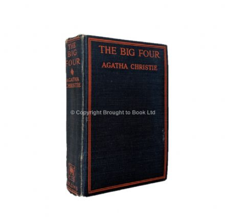 The Big Four by Agatha Christie First Edition Collins 1927